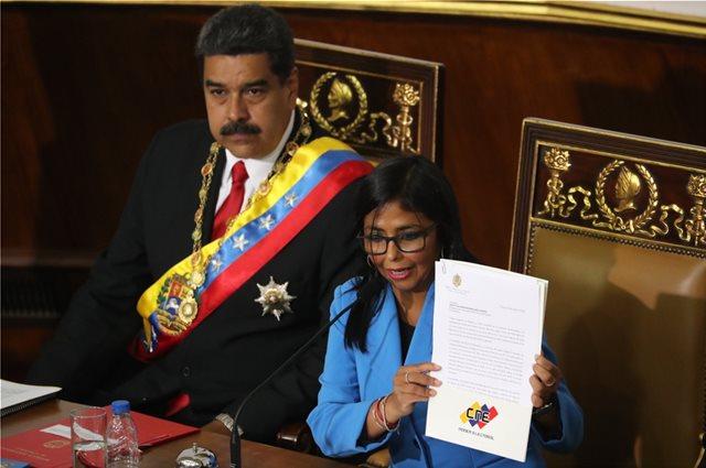 Μαδούρο: «Ηλίθια απλούστευση» να κατηγορείτε εμένα για την κατάρρευση της Βενεζουέλας