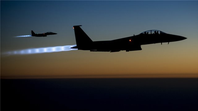 US-led strike hits government targets in Syria – state media