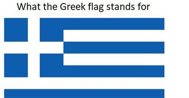 Το «αληθινό» νόημα των χρωμάτων κάθε σημαίας με βάση τα... εθνικά στερεότυπα