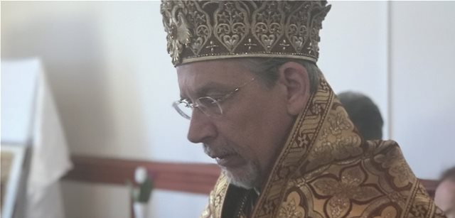 Doctor-clergyman Nicholas Rigas serving the Orthodox Church in Sweden