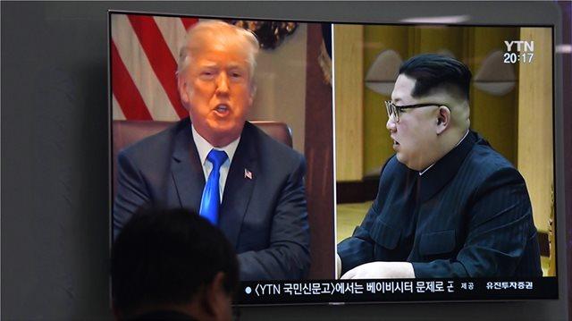 Σοκ και δέος μετά την ακύρωση της συνάντησης Τραμπ - Κιμ Γιονγκ Ουν