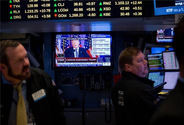 «Βουτιά» στη Wall Street μετά την ακύρωση της συνάντησης Τραμπ- Κιμ