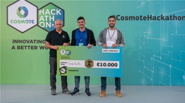 Όλα όσα πρέπει να κρατήσει κανείς από τον φετινό Cosmote Hackathon