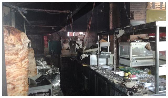 Φωτιά σε γνωστό εστιατόριο του Αλίμου (βίντεο)