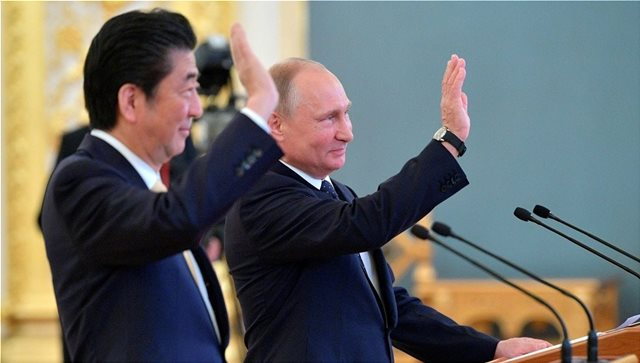 Ρωσία και Ιαπωνία συζητούν για τις Κουρίλες Νήσους