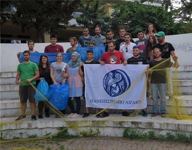 Πρωτοποριακό πείραμα για τον εντοπισμό πλαστικών στη θάλασσα με χρήση drones από το Πανεπιστήμιο Αιγαίου