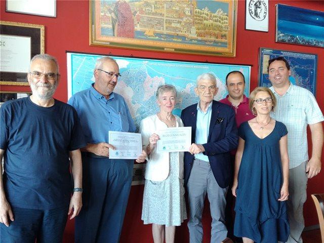 Η Θεσσαλονίκη γίνεται «μπλε» για να προστατέψει το νερό