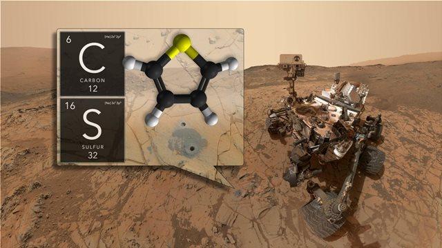 Το μήνυμα του Curiosity για τον Άρη: Είμαστε στο σωστό δρόμο για να βρούμε ζωή στον Κόκκινο Πλανήτη