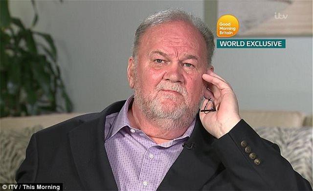Ο πατέρας της Μέγκαν Μαρκλ αποκαλύπτει τι έβαλε τον πρίγκιπα Χάρι να του υποσχεθεί για να του «δώσει» την κόρη του