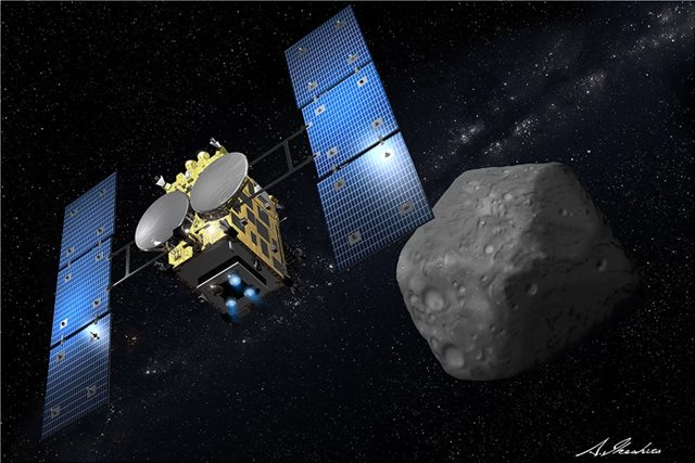 Ιαπωνικό σκάφος μεταδίδει τις πρώτες εικόνες από δυνητικά επικίνδυνο για τη Γη αστεροειδή