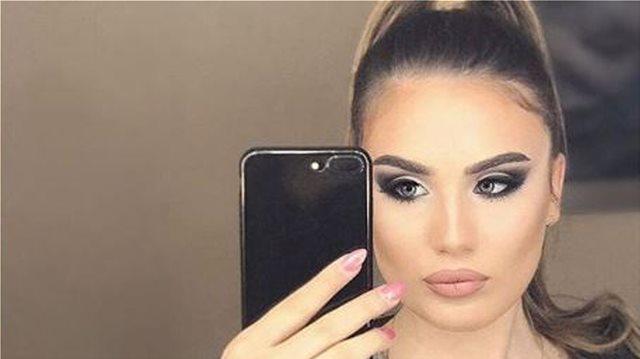 Η φοιτήτρια κόρη του Ζόραν Ζάεφ είναι διάσημη στα Σκόπια για τις πόζες της