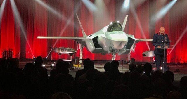HΠΑ και Τουρκία γιόρτασαν την παραλαβή των F-35
