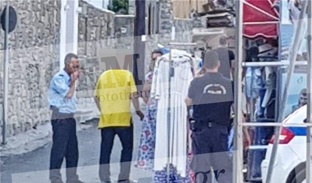 Ψαρού, Μύκονος: Συνελήφθη πρώην στέλεχος πολυεθνικής γιατί πουλούσε καφτάνια στο δρόμο