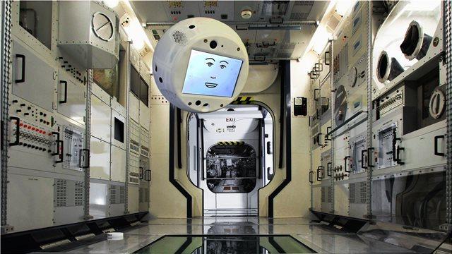 Το αιωρούμενο «έξυπνο» ρομπότ Cimon στάλθηκε στον Διεθνή Διαστημικό Σταθμό