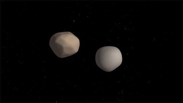 Αστεροειδής πέρασε... μονός τον Δεκέμβριο και επέστρεψε... διπλός τον Ιούνιο!