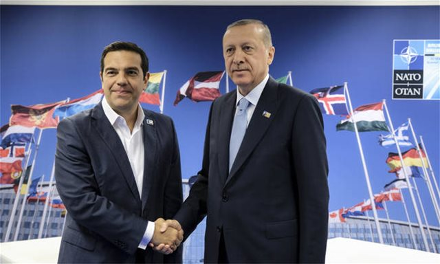Τουρκικός Τύπος: Σε ηλεκτρισμένο κλίμα η συνάντηση Τσίπρα - Ερντογαν
