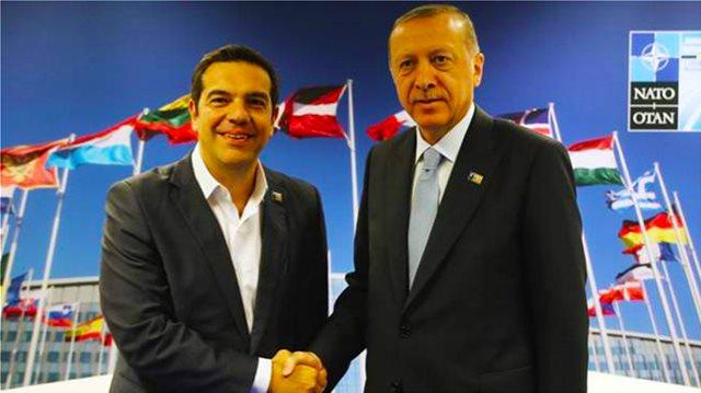 Ερντογάν: Με τον Τσίπρα συμφωνήσαμε να προσπαθήσουμε με καλή πρόθεση για τους 8 και τους 2