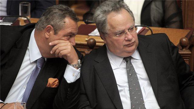 Κοτζιάς για Σκοπιανό: Κάποιοι βουλευτές του Καμμένου θα ψηφίσουν τη συμφωνία - ΑΝΕΛ: Αδιαπραγμάτευτη η θέση μας