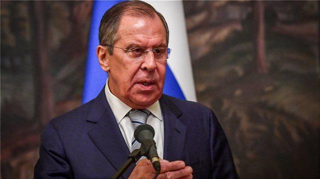 Λαβρόφ για τις απελάσεις: Η Ελλάδα ακολουθεί την πολιτική της Δύσης απέναντι στη Ρωσία, χωρίς να έχει στοιχεία