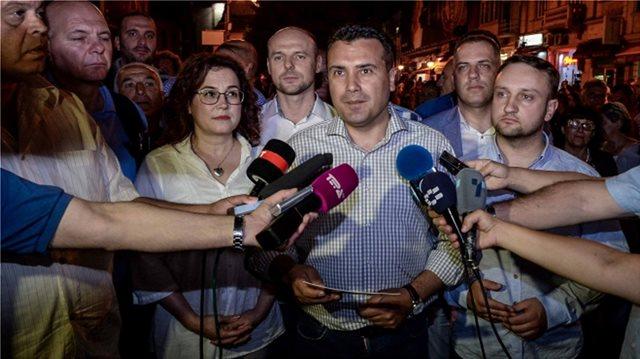 Πανηγύρια Ζάεφ για τη συμφωνία στο Σκοπιανό: Η