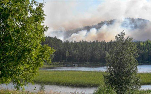 Στο έλεος των πυρκαγιών η Σουηδία: Δεκάδες μέτωπα στα δάση της χώρας