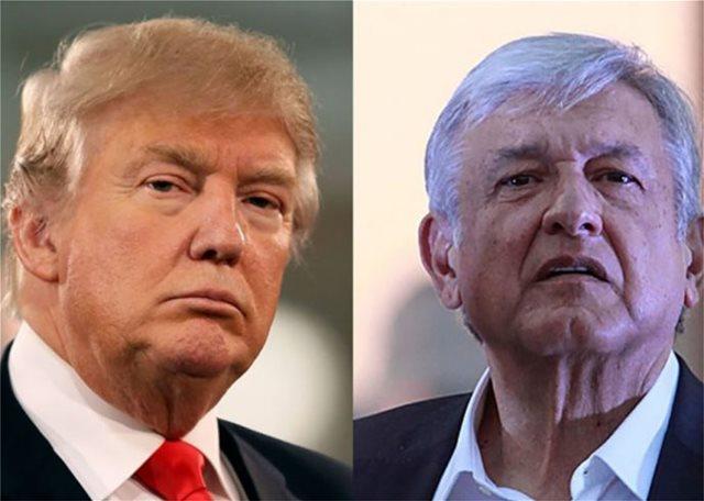 Τραμπ: Ίσως επιδιώξουμε ξεχωριστή εμπορική συμφωνία με το Μεξικό