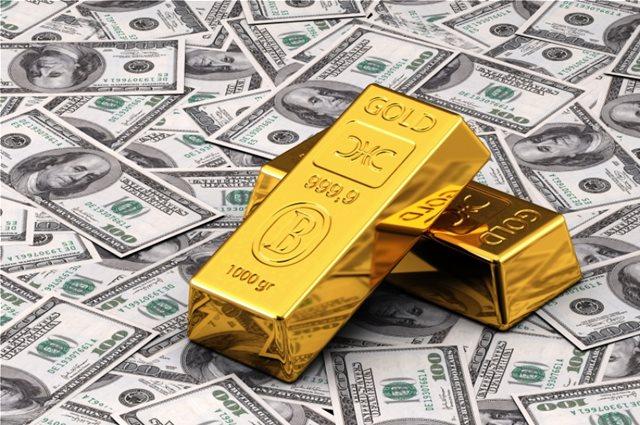 Σε υψηλό τριών βδομάδων το δολάριο - Οριακή άνοδος στην τιμή του χρυσού