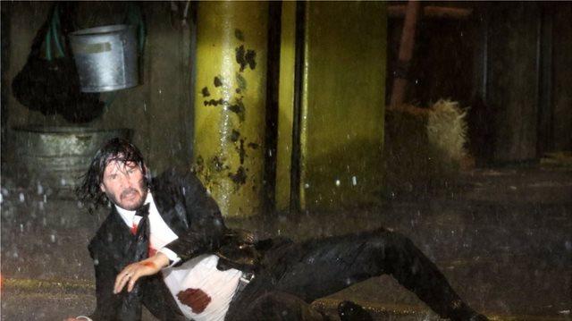 John Wick 3: Keanu Reeves on horseback in New York (photos)