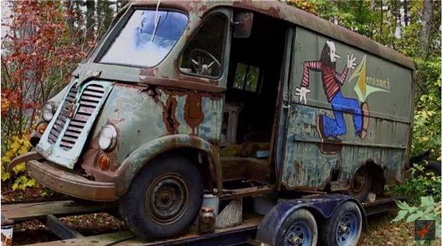 Το βαν των Aerosmith, βρέθηκε σε δάσος στη Μασαχουσέτη