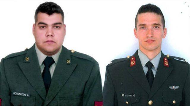 Ελεύθεροι οι δύο Έλληνες στρατιωτικοί