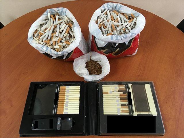 Βοιωτία:  Γέμισε 1.440 τσιγάρα με λαθραίο καπνό και τα πωλούσε!