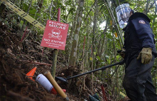 Κολομβία: Διπλασιάστηκε ο αριθμός των θυμάτων από νάρκες τον τελευταίο χρόνο