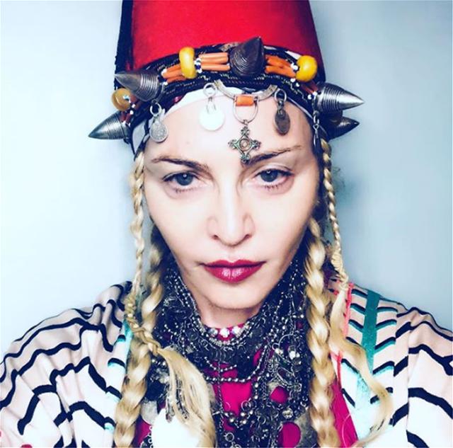 Φωτογραφίες: Στο Μαρόκο θα σβήσει 60 κεράκια για τα γενέθλιά της η Μαντόνα!