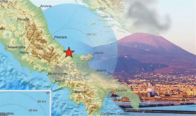 Ιταλία: Μόνο ρωγμές σε κτήρια από τον σεισμό των 5,1 Ρίχτερ