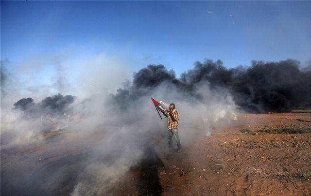 Ισραήλ: Δύο Παλαιστίνιοι σκοτώθηκαν και 241 τραυματίστηκαν σε ταραχές στη Γάζα