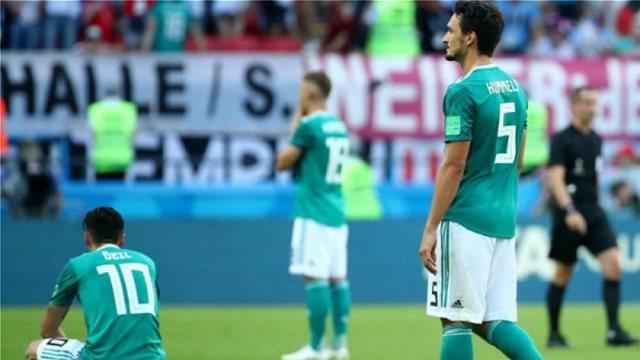Ιστορική κατρακύλα για τη Γερμανία στο παγκόσμιο ranking