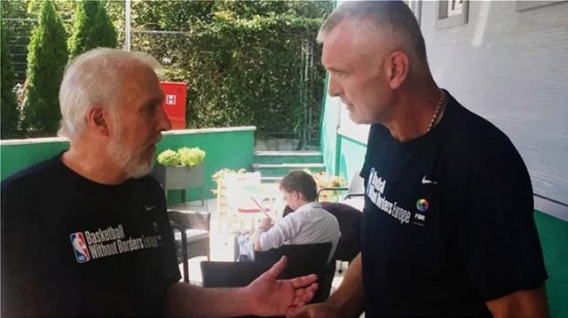 """Πάσπαλι στο Eurohoops: """"Μεγαλύτερη η πίεση στην Ελλάδα παρά στο ΝΒΑ"""" (video)"""