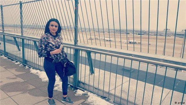 Yazidi woman encounters