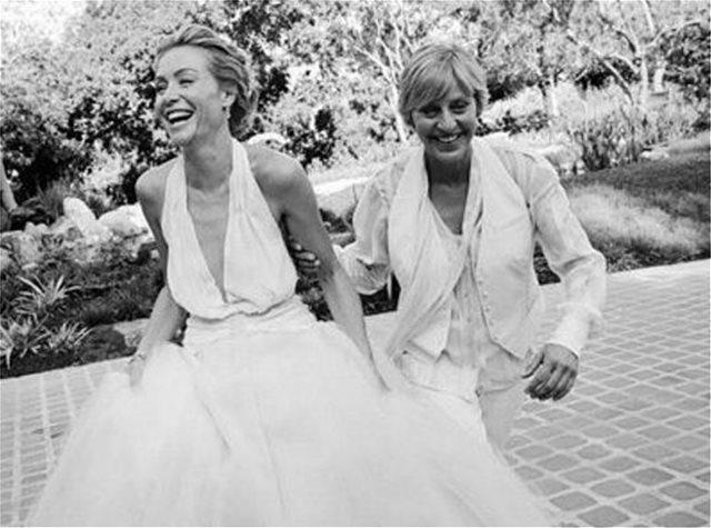 Το συγκινητικό βίντεο της Έλεν ντε Τζένερις για τα 10 χρόνια του γάμου της με την Πόρσια ντε Ρόσι