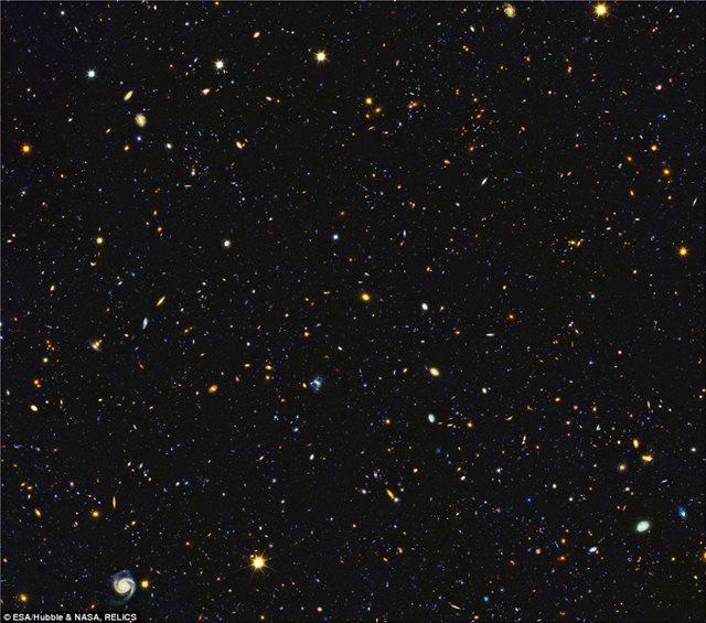 Το Σύμπαν... 11 δισ. χρόνια πριν: Ταξίδι στο χρόνο με πανοραμική φωτό από τη NASA