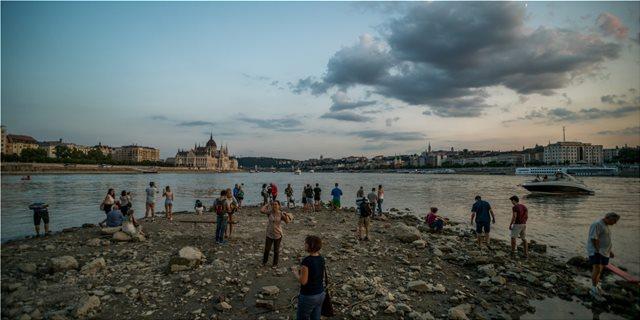Στερεύει ο Δούναβης: Στη χαμηλότερη στάθμη από το 2003