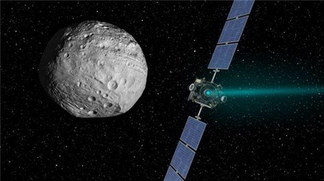 Το διαστημικό Dawn της ΝASA φτάνει στο τέλος της ζωής του πάνω στον νάνο-πλανήτη Δήμητρα