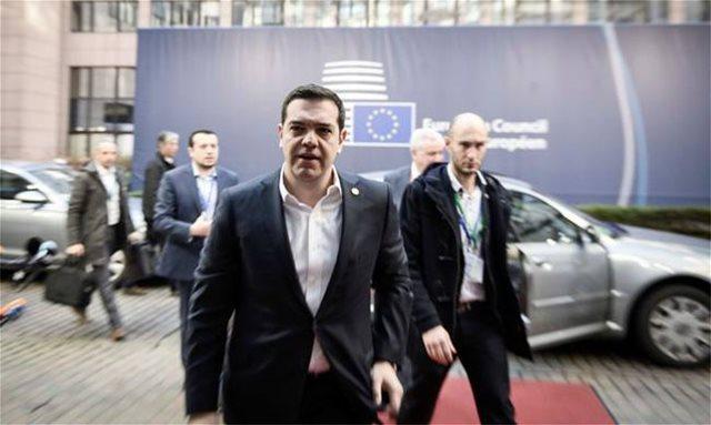Ο Αλέξης Τσίπρας στο Σάλτσμπουργκ της Αυστρίας για την άτυπη Σύνοδο Κορυφής της ΕΕ
