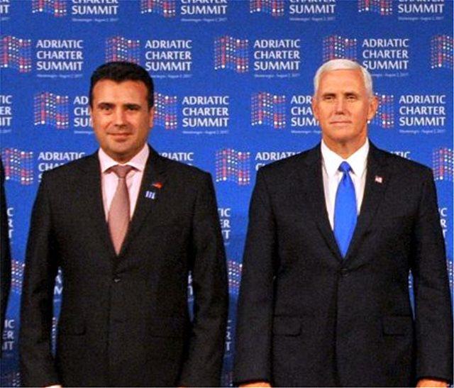 Το δημοψήφισμα στα Σκόπια στην κορυφή της συνάντησης Ζάεφ-Πενς στον Λευκό Οίκο
