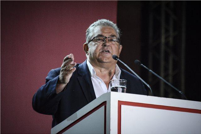 Κουτσούμπας για τα 100 χρόνια του ΚΚΕ: Τον νέο αιώνα βάζουμε τον πήχη πιο ψηλά