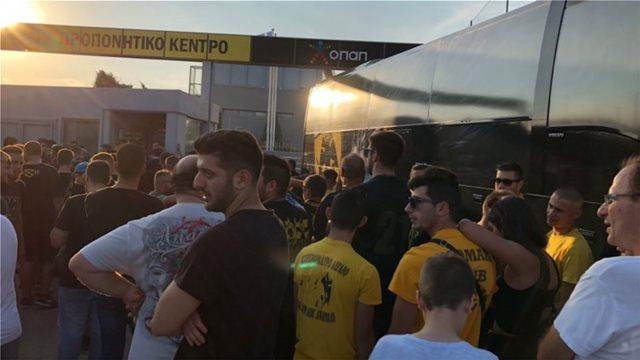 Μέλη της Original προς παίκτες της ΑΕΚ: «Δώστε τις απαντήσεις σας στο γήπεδο»