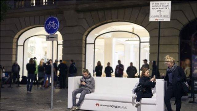 Η Ηuawei γλεντάει την Apple στην ουρά για το νέο iPhone