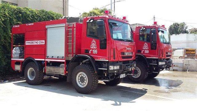 Κρήτη: Σε ύφεση η φωτιά που σήμανε συναγερμό