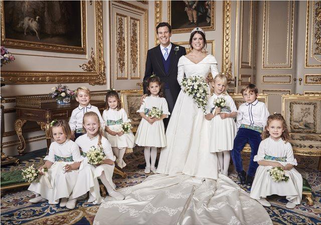 Πριγκίπισσα Ευγενία: «Ανέβασε» την πιο γλυκιά φωτογραφία του γάμου της με την μικρή Σάρλοτ να κλέβει την παράσταση