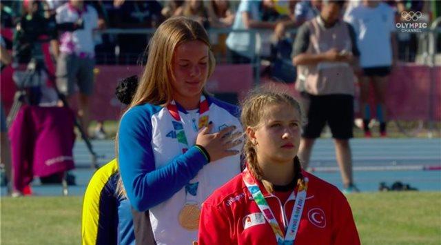 Ολυμπιακοί Αγώνες Νέων: Χρυσό στον ακοντισμό η Ελίνα Τζένγκο!